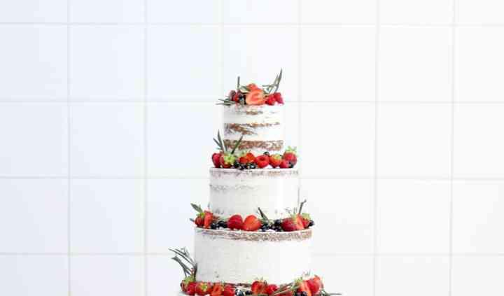 Wedding Cake et fruits rouges