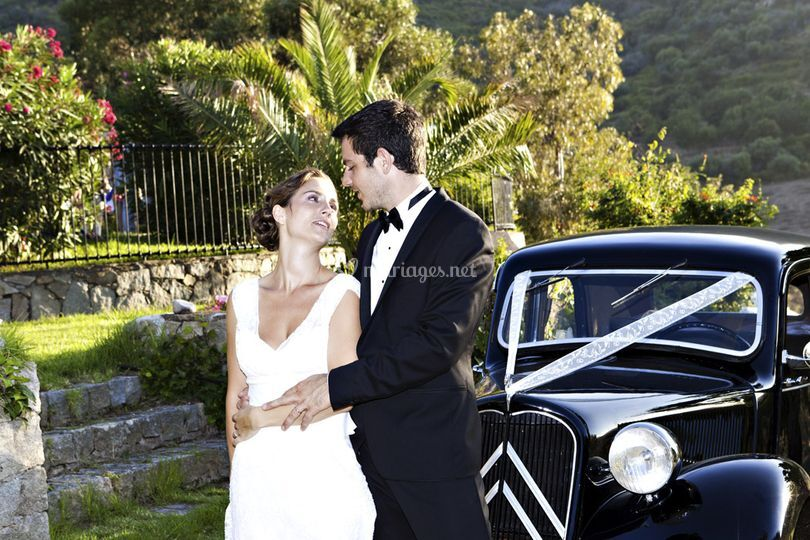 Mariage en Corse - tendresse