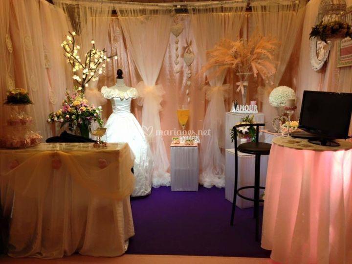 Centre de table de 4events photos - Salon du mariage biganos ...