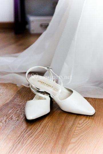 Chaussures de la mariées