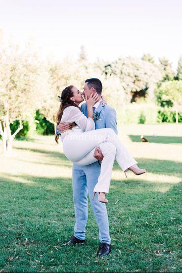 Mariage d'été en Provence