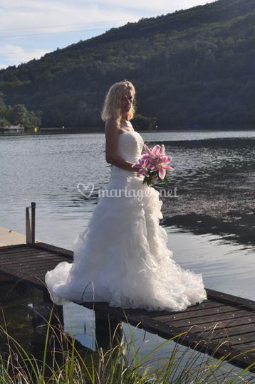 Robe de mariée Alise .