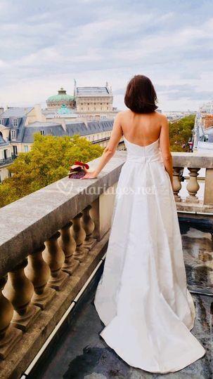 Shooting photo sur les balcons