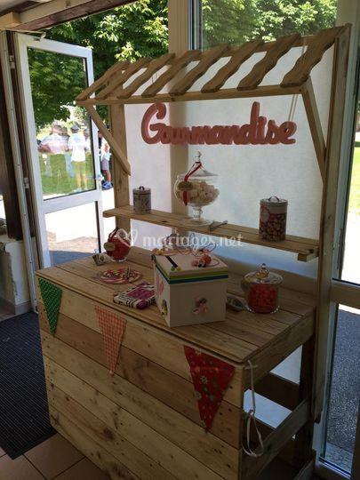 Candy bar à louer