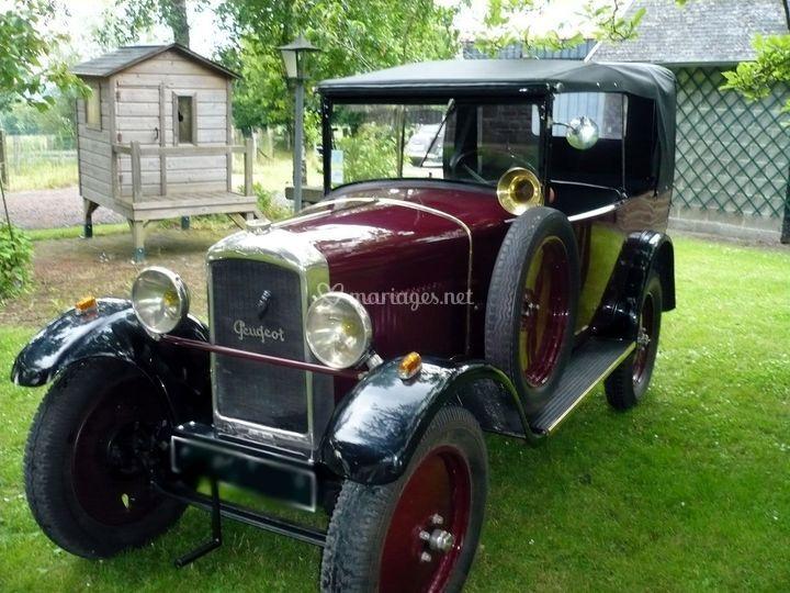 Bessie - Notre Peugeot Torpedo