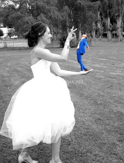 Les mariés (mise en scène)