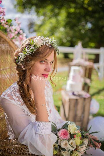 Shooting mariage - champêtre