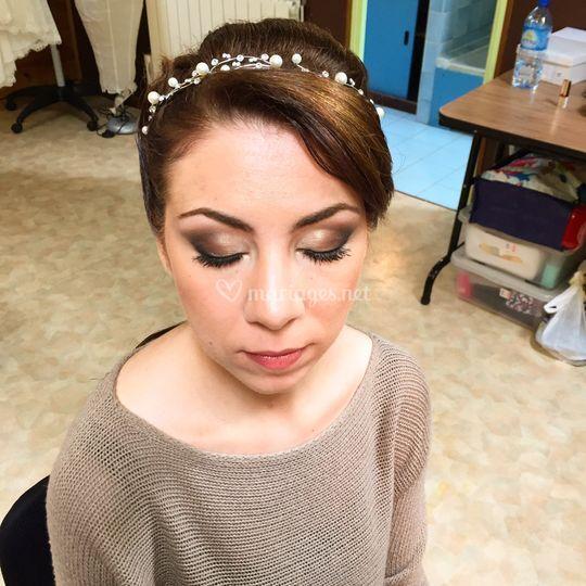 Laura Faivre maquillage