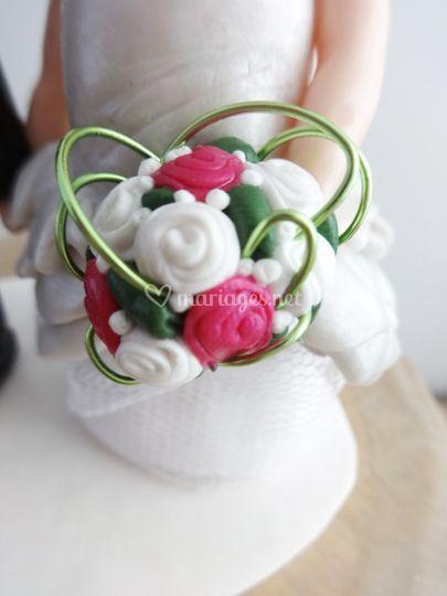 Zoom bouquet de mariée