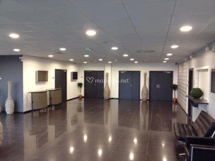 Hall d'accueil 150m2