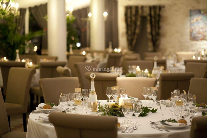 Ambiance salle de restaurant