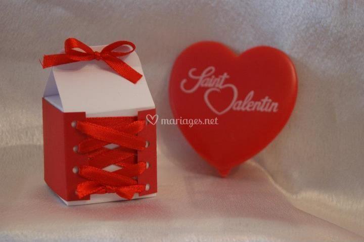 Cube pour dragées ou chocolats