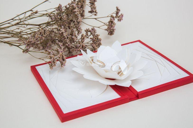 Dahlia passionnel rouge