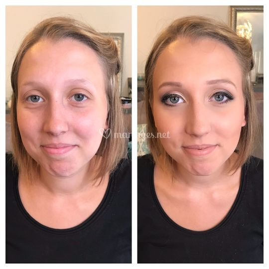 Maquillage invitée mariage