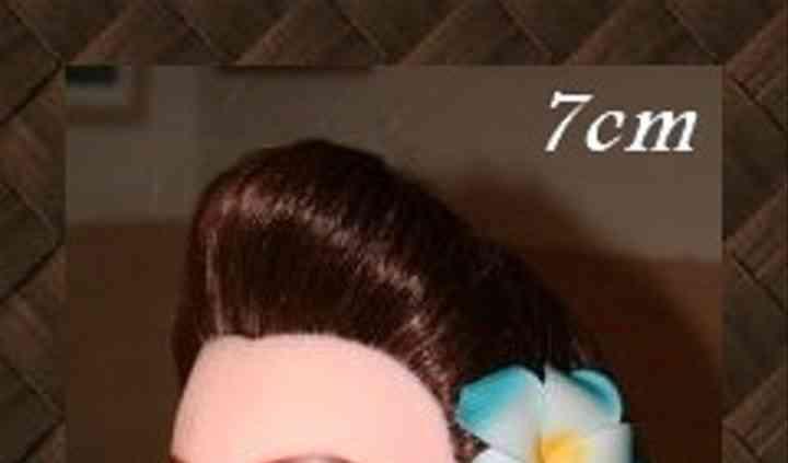 L'originalité d'une coiffure exotique