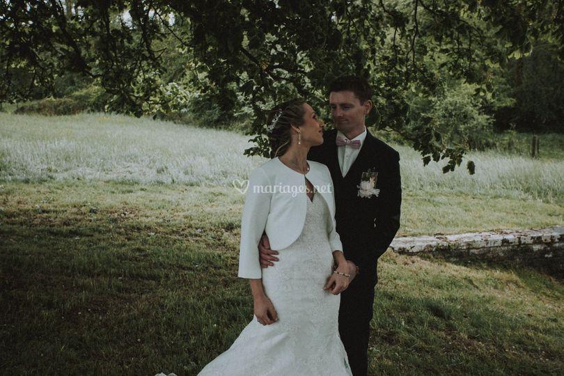 Mariage champêtre Boreale-Phot