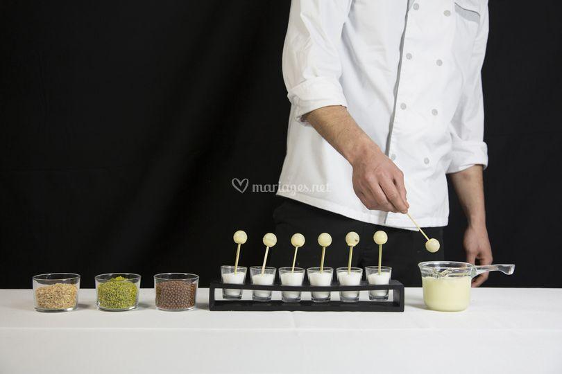 Animation popcake chocolatier