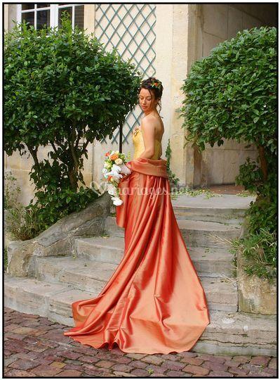 La beauté d'une robe