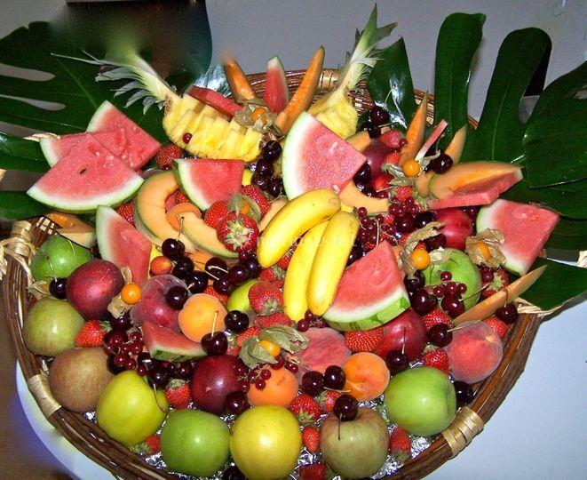 Corbeille de fruits de saison