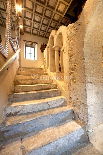 Escalier château