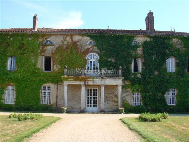 Façade du Château au Nord