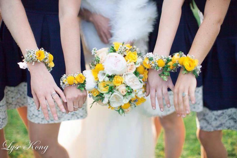 Bouquet +bracelet