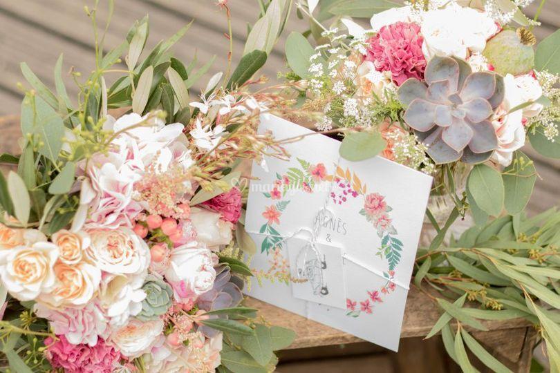 Faire-part & fleurs