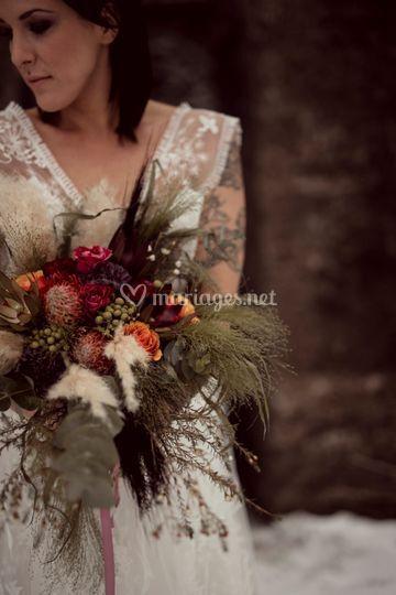 Bouquet Mariée Sauvage