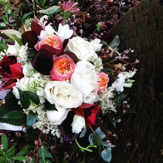 Bouquet mariée anglais