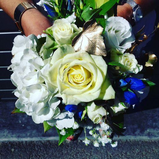 """Bouquet mariée à """"lancer"""""""