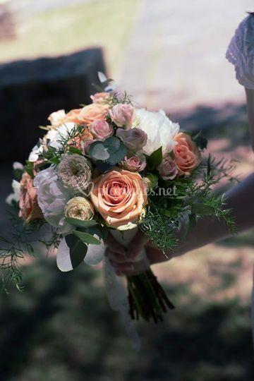 Bouquet de mariée chic