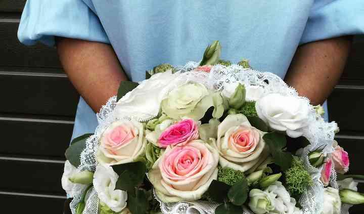 Bouquet de mariée dentelle