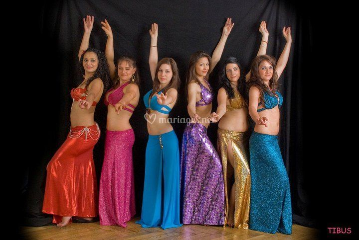Khamsin, les danseuses