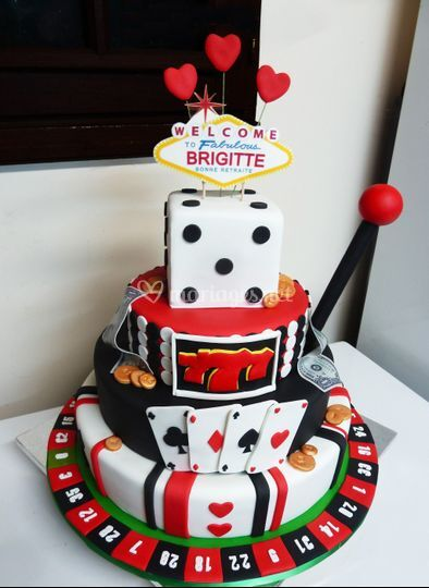 Cake design casino