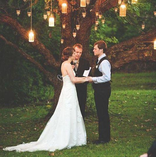 Mariages possible dans le parc