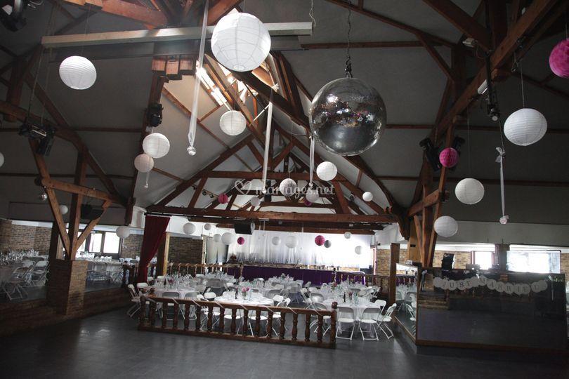 Grand espace piste de danse