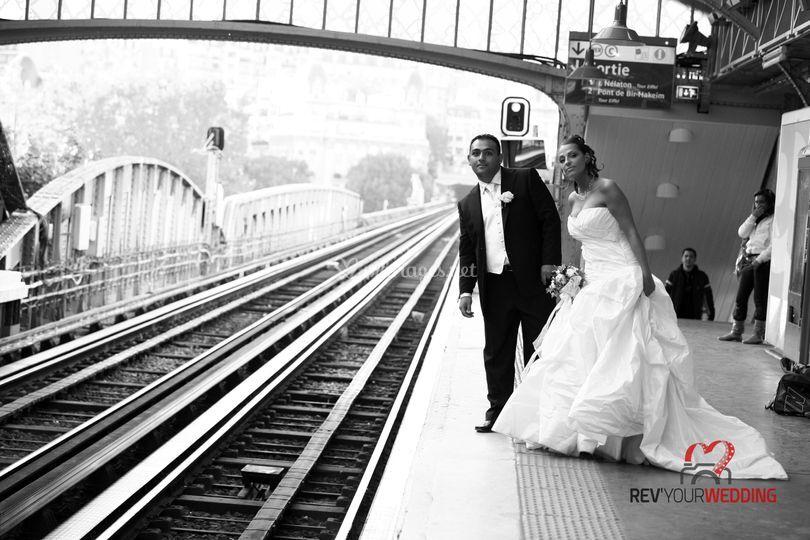 Métro Bir Hakeim - Paris 15
