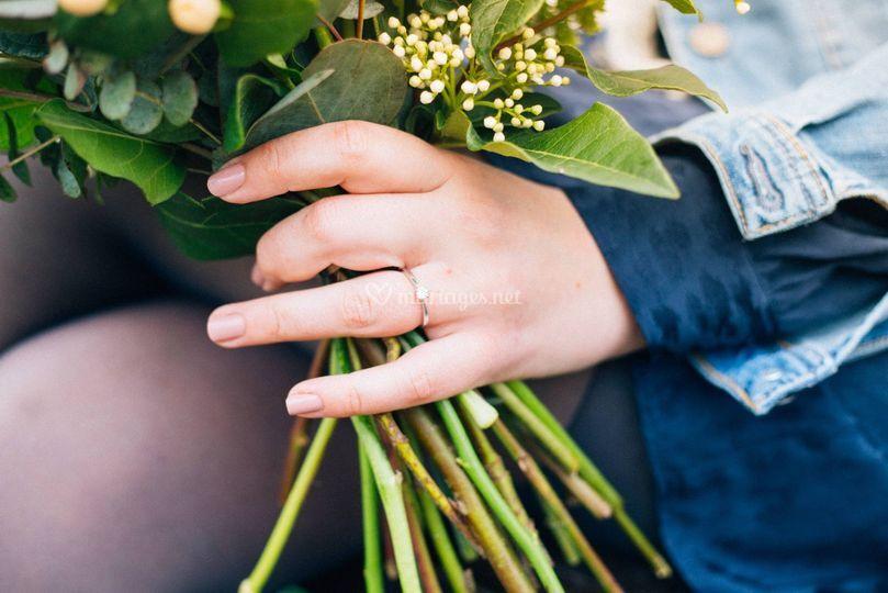 Engagement Charlène Sébastien