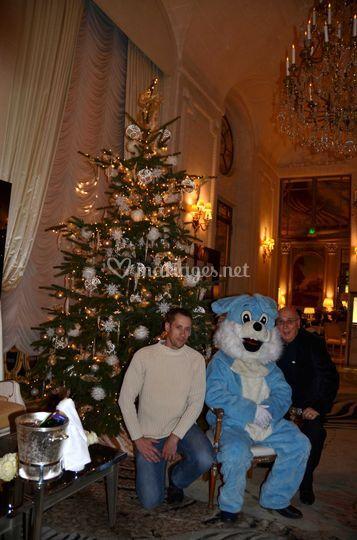 Noël à l'Hotel Meurice