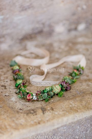 Couronne Florale (Head Band)