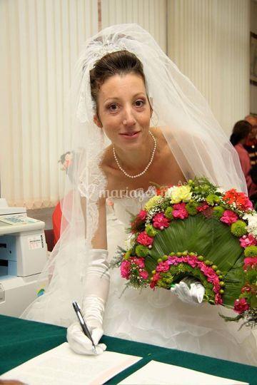 Bouquet de mariée theme espagne