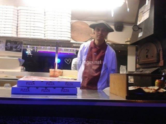 Le Chef pizaiolo, Luc