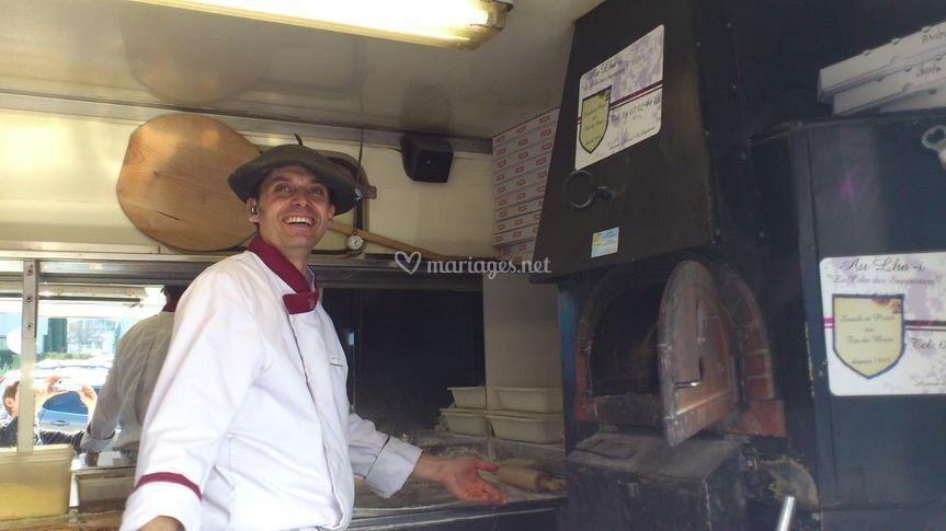 Luc, le pizzaiolo
