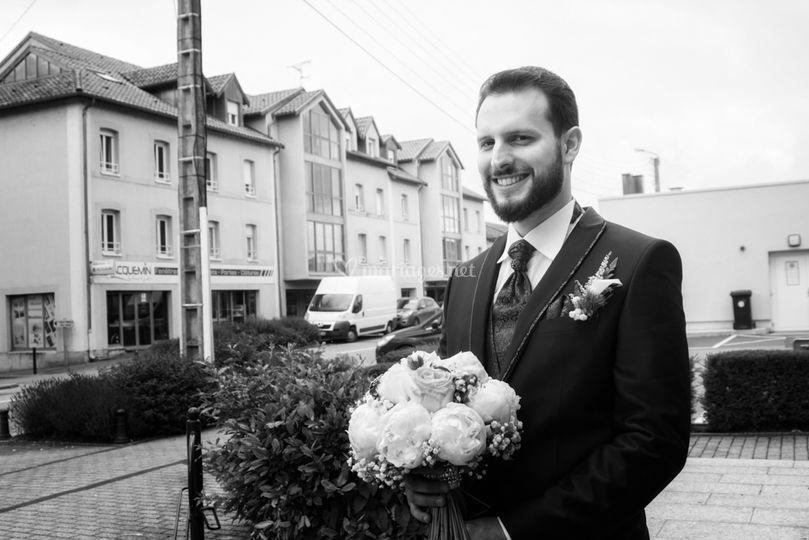 Arrivée du marié