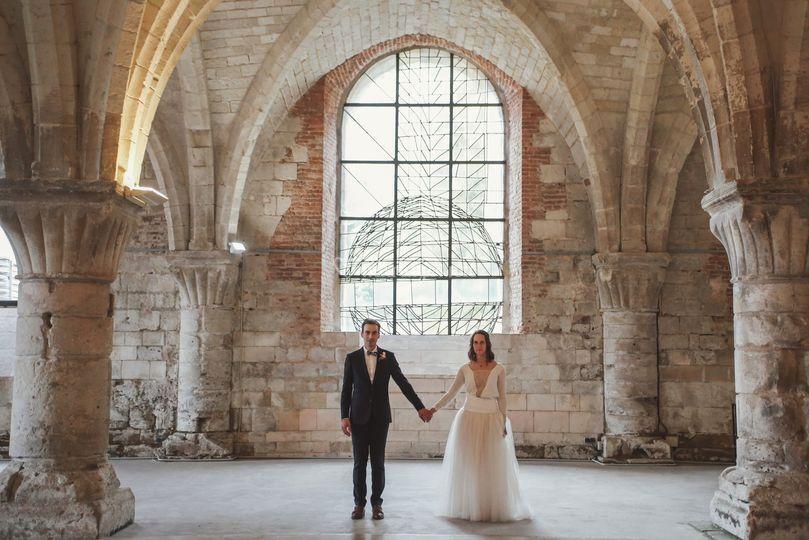 Couple abbaye de vaucelles