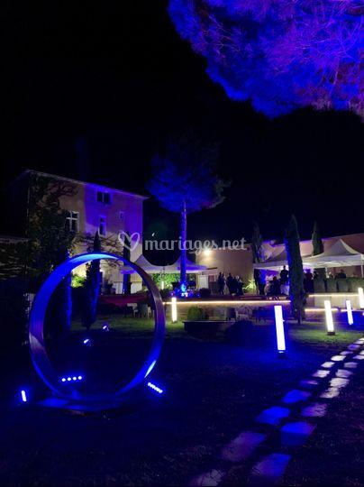 Nuit bleue au Domaine