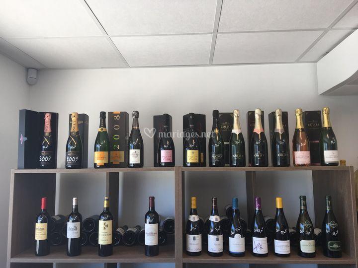 Un choix de champagnes