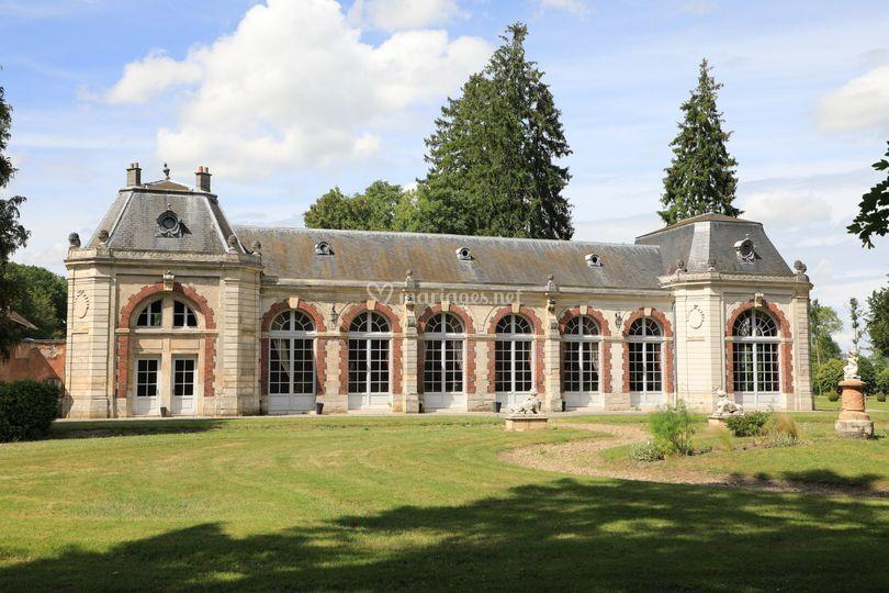 Salle orangerie - extérieure