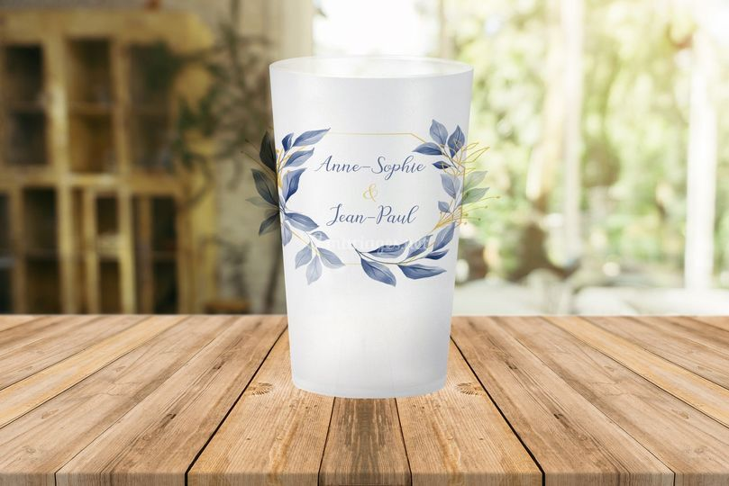 Gobelet Mariage Personnage