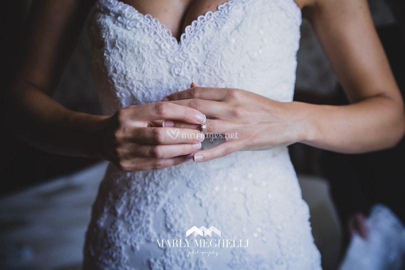 Préparations de la mariée